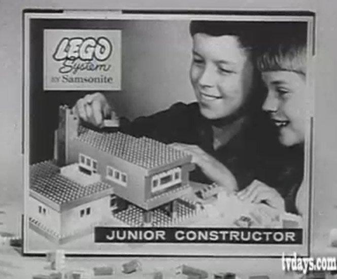 Lego em 1960