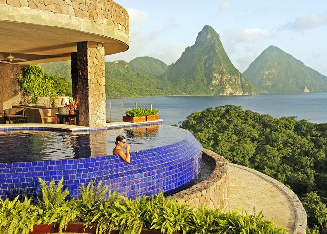 Resort no meio das Montanhas