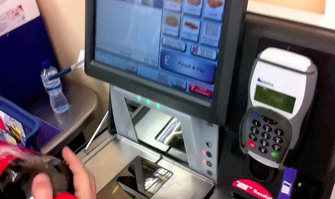 Caixa Self-Service de Supermercado – VideoReview