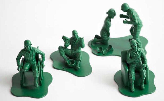 Soldados de Brinquedo Realistas