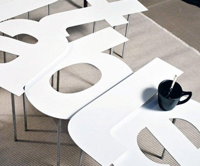 Tipografia + Mesa = Fontable