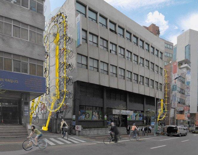 Estacionamento Vertical de Bicicletas