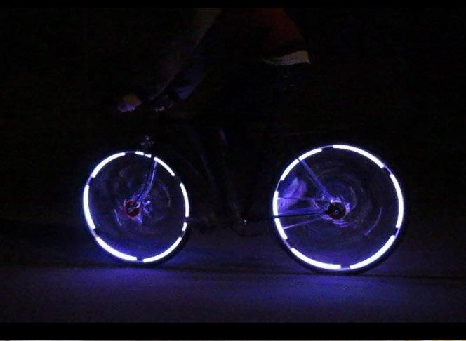 Bicicletas Luminosas para Andar de Noite