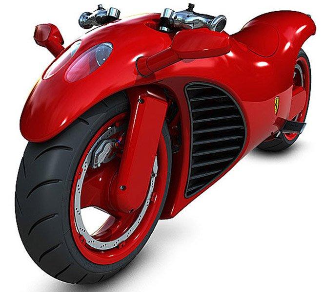 Moto da Ferrari
