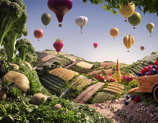 FoodScapes – Arte com Comida