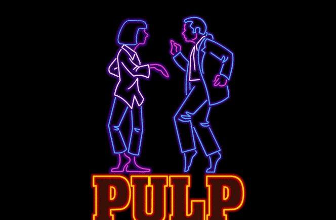 Filmes Famosos em Neon Animado