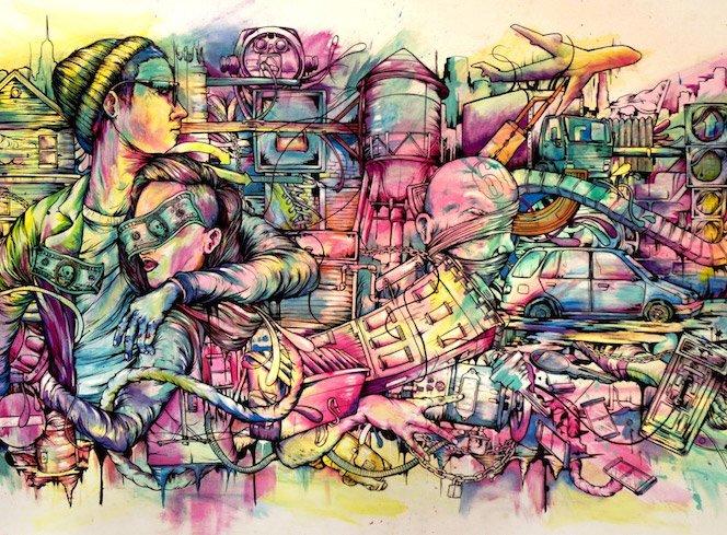 A arte de Pat Perry