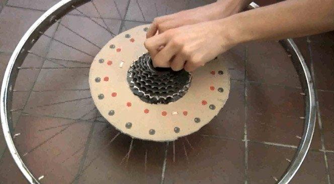 Animação em Roda de Bicicleta