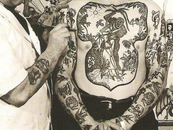 Tatuagens do Início do Século 20