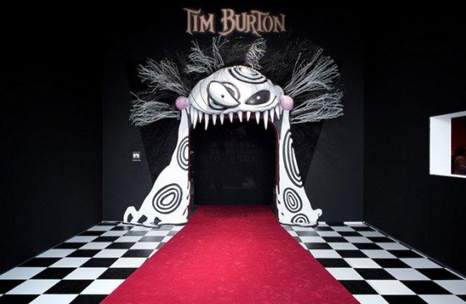 Exposição do Tim Burton