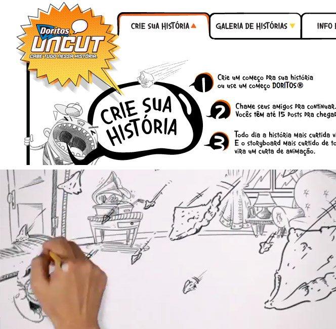 Doritos Uncut – Sua história pode virar uma animação 3D