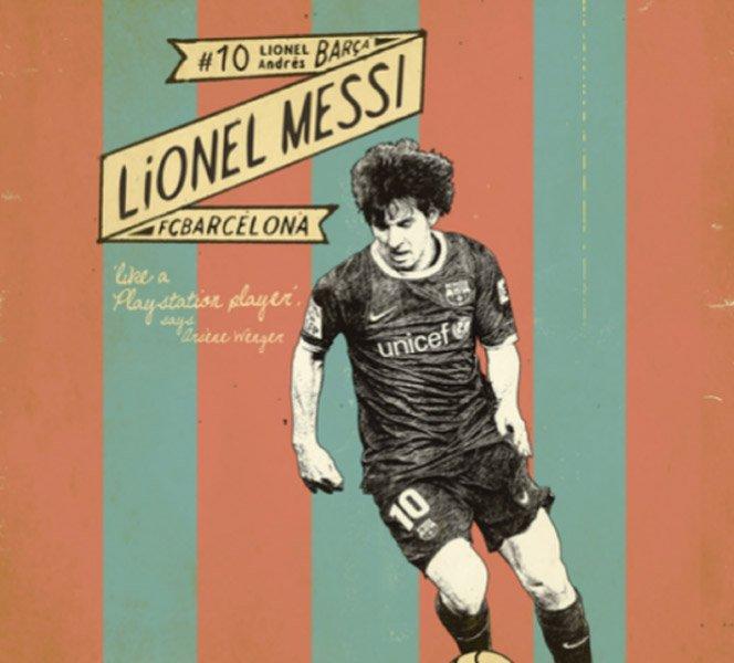 Posters Retrô de Futebol
