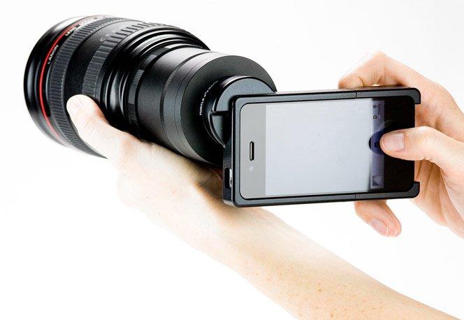 Lentes Nikon e Canon no seu iPhone