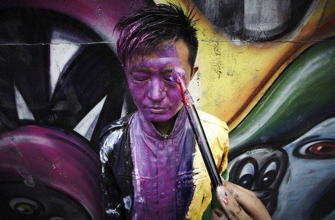 O Homem Invisível, agora no Graffiti