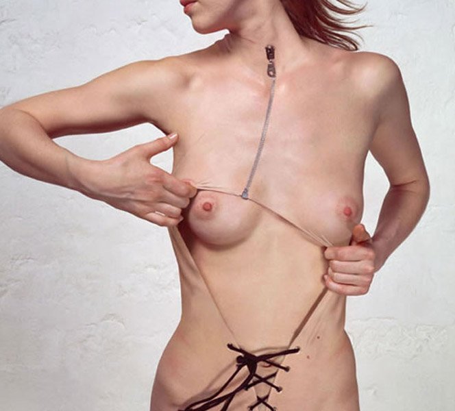 A pele é a roupa do corpo