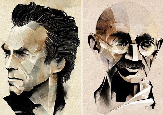 A arte de Alexey Kurbatov