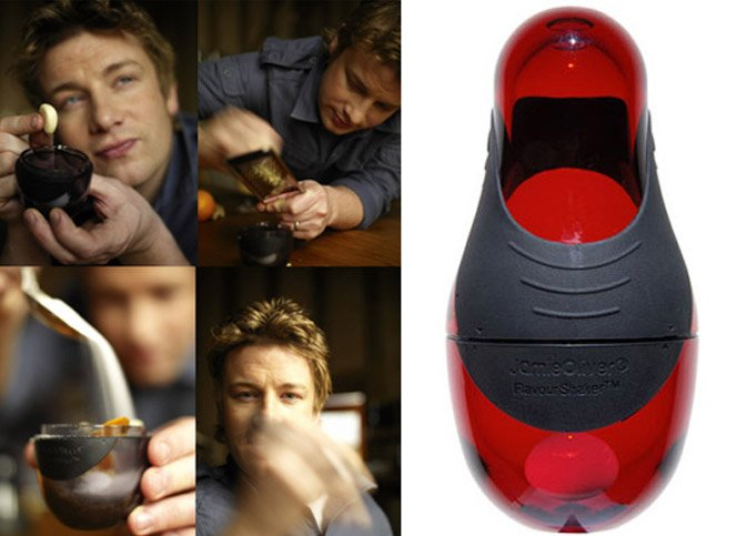 Flavour Shaker, o produto mais vendido do Jamie Oliver
