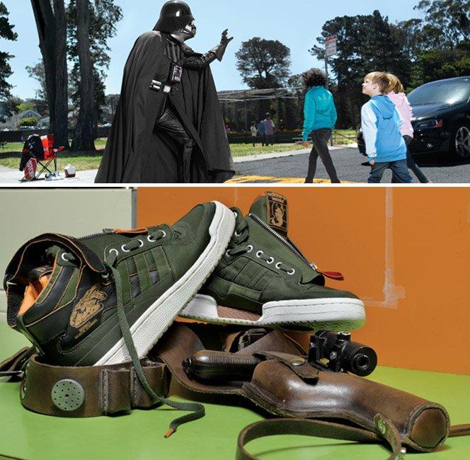 Star Wars + Adidas Originals  Coleção Outono/Inverno 2011