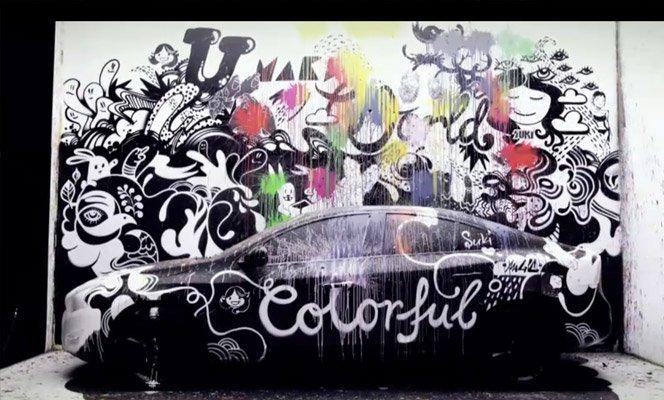 Volvo convida 10 artistas para pintarem seu carro