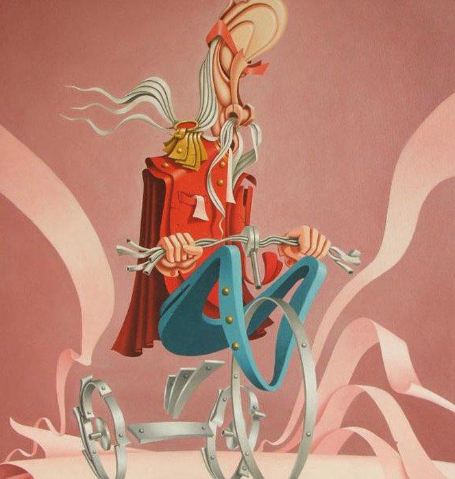 Surrealismo de Alexander Lyamkin