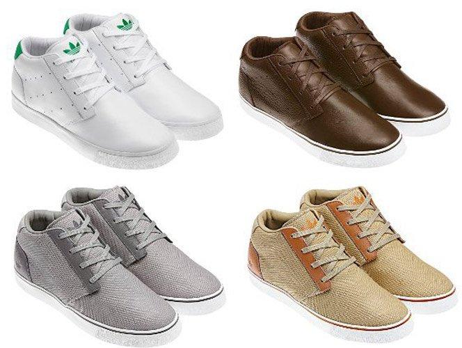 Adidas Originals para homens.  Outono/Inverno 2011