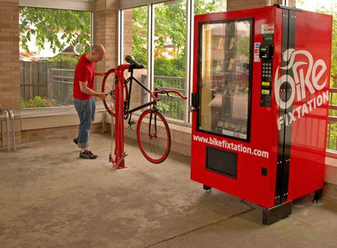 Pitstop para bicicletas