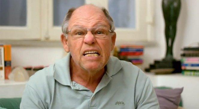 Vlog de idoso fala algumas verdades para os jovens