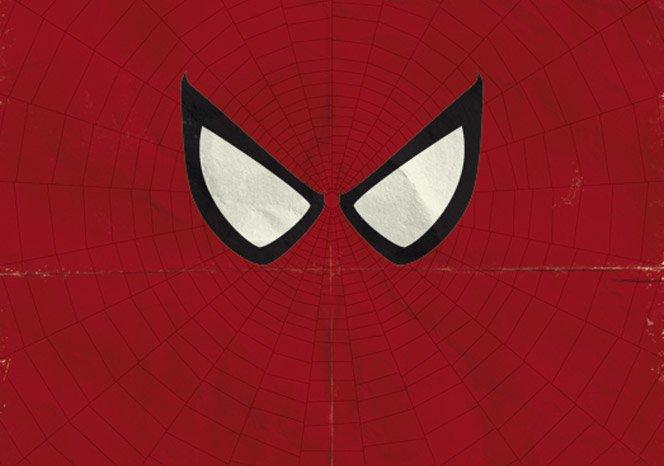 Super-Heróis Minimalistas