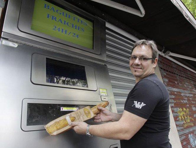 Comprando pão no futuro