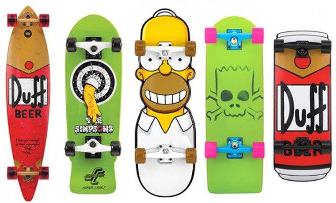 Skate + Simpsons