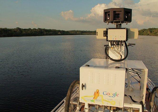 Google Street View na Floresta Amazônica