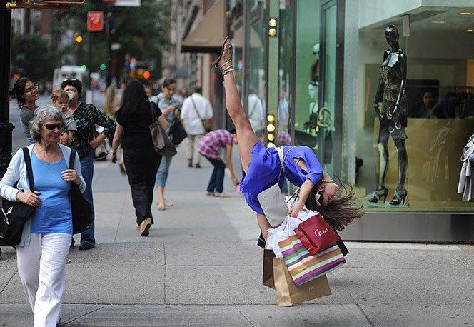 Bailarinos do cotidiano