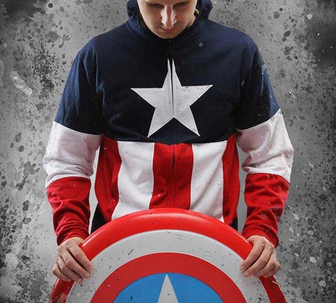 Moleton do Capitão América