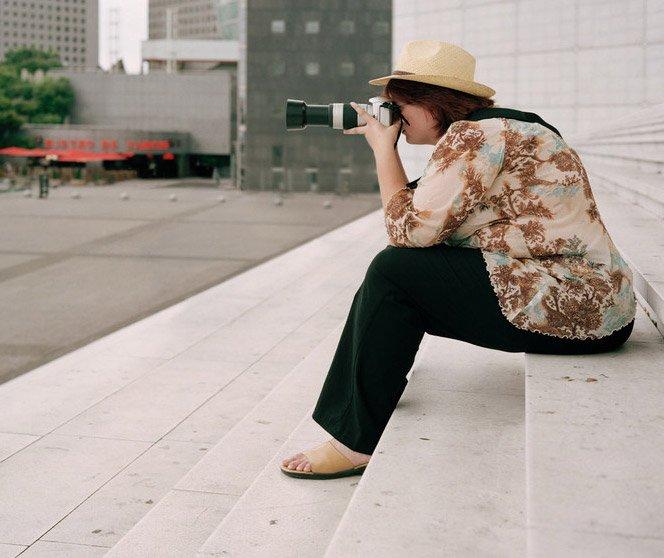 Turistas Fotografando