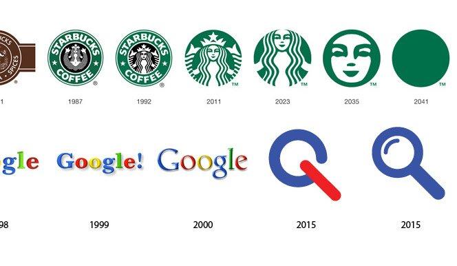 O futuro dos logos famosos