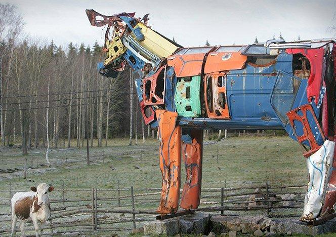 Vacas metálicas