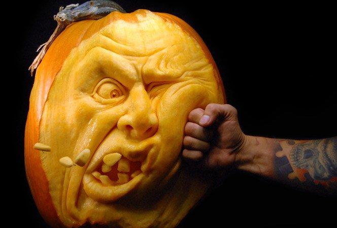 Abóboras criativas para o Halloween