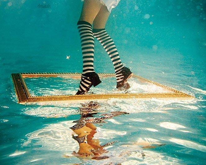 Fotos debaixo d'água de Elena Kalis