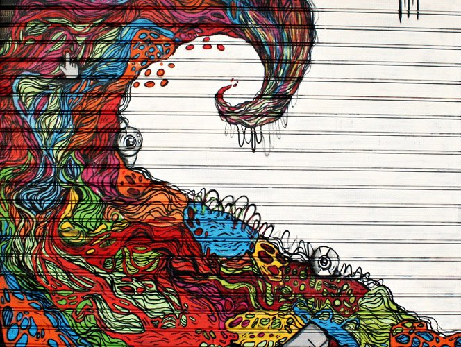 Street Art do Espanhol Cuellimangui