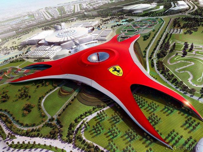 Parque temático da Ferrari em Abu Dhabi