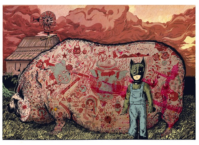 As ilustrações de Tim McDonagh