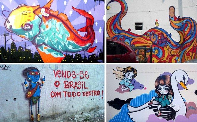 5 grafiteiros brasileiros para inspirar a sua arte