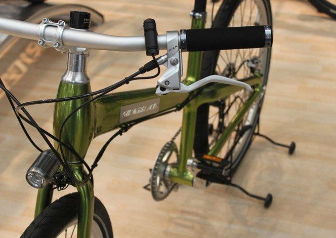Bicicleta que recarrega seus gadgets