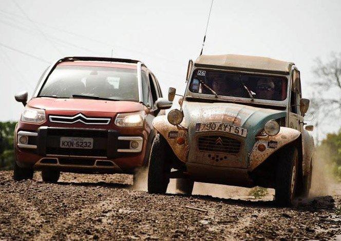 12º RAID 2CV, a expedição da Citroën agora no Brasil