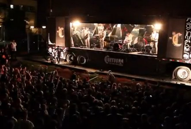 """Cuervo Cold traz """"shot shows"""" do OK GO pra SP e Rio"""