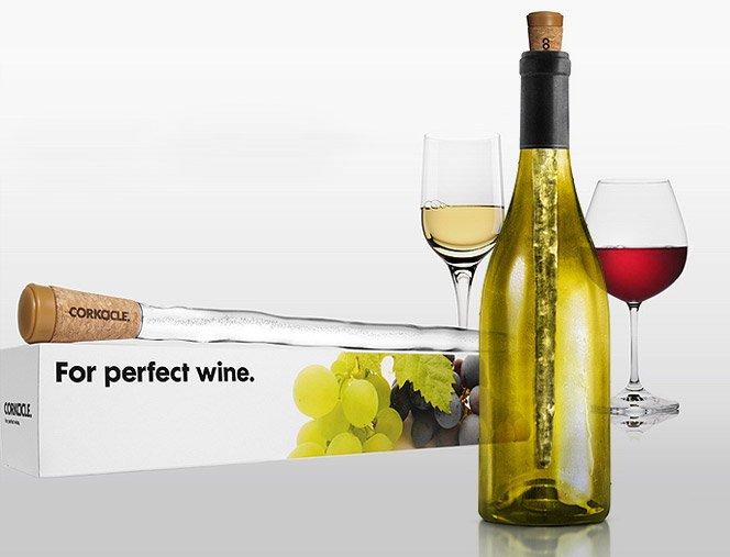 Corkcicle – Deixe seu vinho sempre gelado