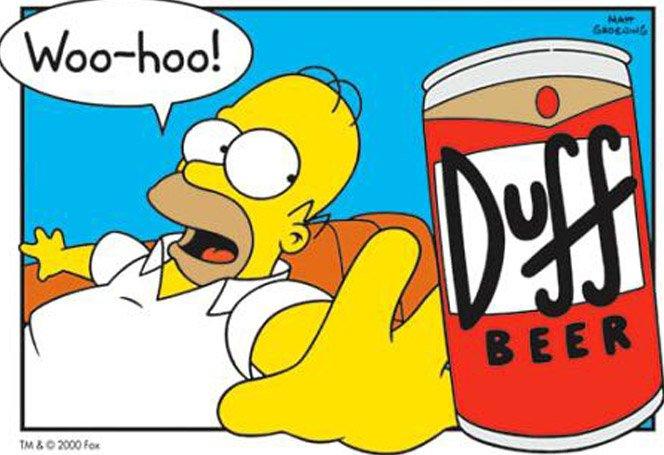 Cerveja Duff está a venda em São Paulo