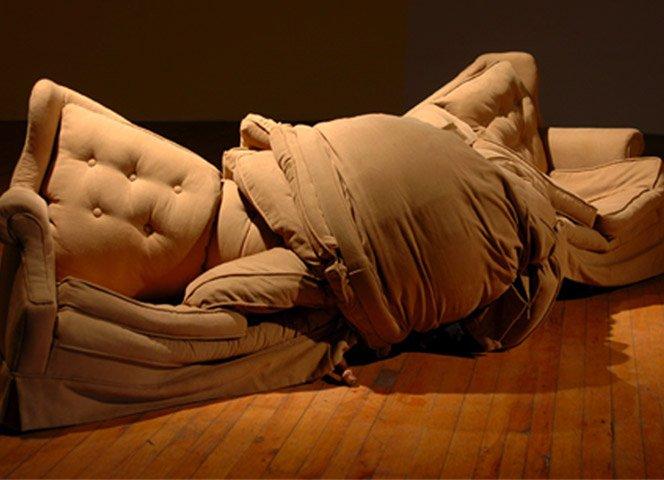 As esculturas bizarras de Michael Beitz