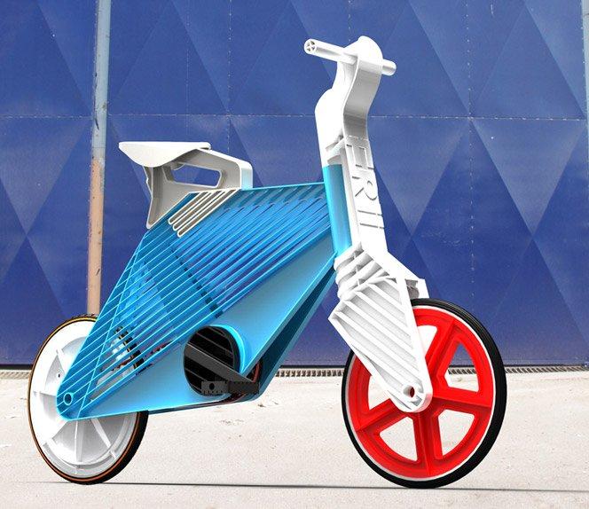 Frii Bicycle a bike feita 100% de plástico reciclável