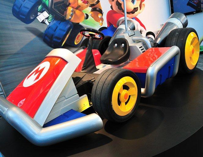 Carros do Mario Kart em tamanho real